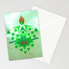 Abstract Reversal of P.O.K.Y Stationery Cards