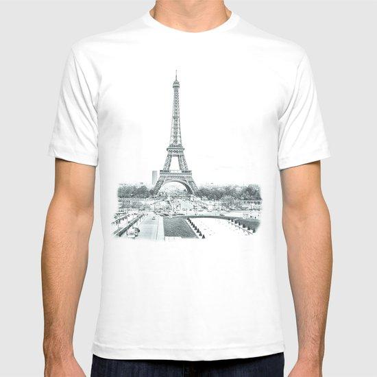 Dramatic Eiffel  T-shirt
