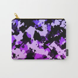 Gradient pink and purple camo. Carry-All Pouch