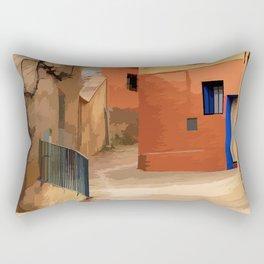 Mediterranean vibes Rectangular Pillow
