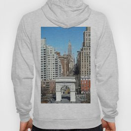 Washington Square Arch & 5th Ave NYC  Hoody