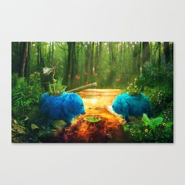 GIFT OF THE SWAMPTHING Canvas Print