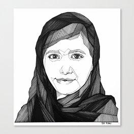 Malala Yousafzai Canvas Print