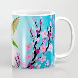 Hummingbird Design Coffee Mug