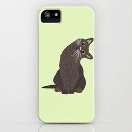 Wanderlust Cat iPhone Case