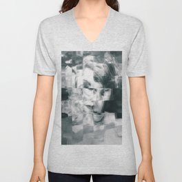 Young woman Unisex V-Neck