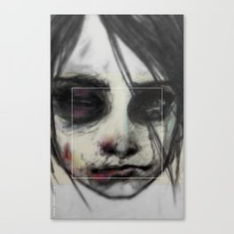 Survive (the Girl 04) Canvas Print