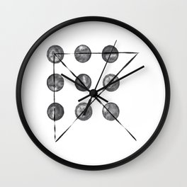 Think Outside the Box Puzzle Wall Clock