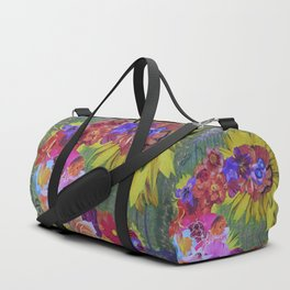 The Floral Imagination Dragon Duffle Bag