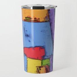 Broken fields Travel Mug