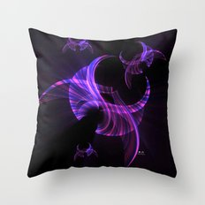 In Flight 2 of 5 Series Throw Pillow