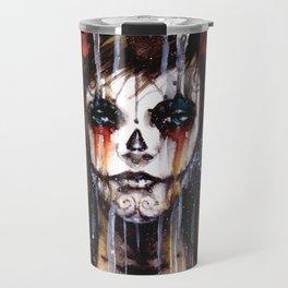 calavera de azúcar - sugarskull Travel Mug