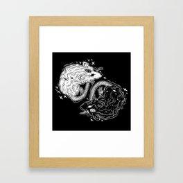 MYSTICAL RATS Framed Art Print