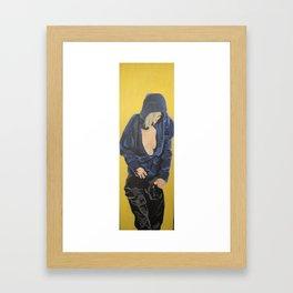 girl IX Framed Art Print