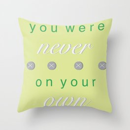 belong Throw Pillow