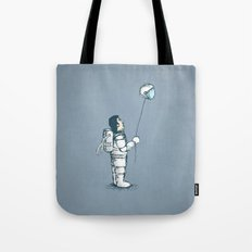 space balloon Tote Bag