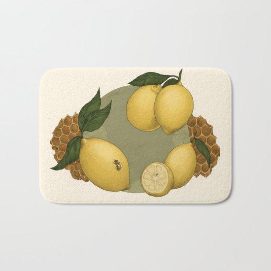 Honey, Bees & Lemons Bath Mat