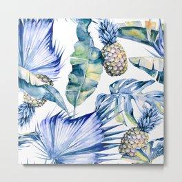 Bahamas - blue Metal Print