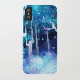 Forest of Fireflies iPhone Case