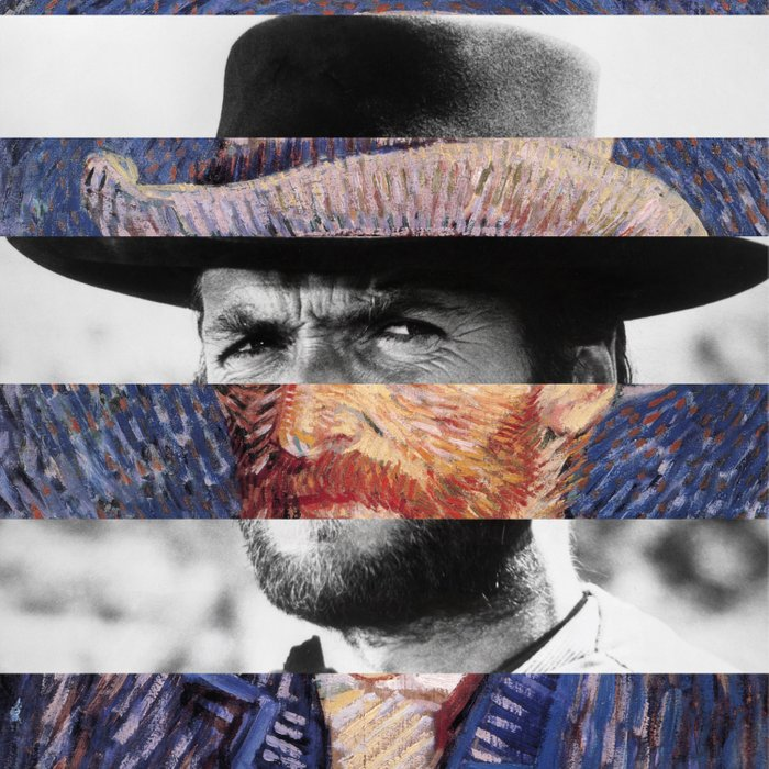Van Gogh's Self Portrait & Clint Eastwood Comforters