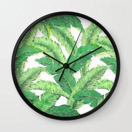 Banana for banana leaf Wall Clock