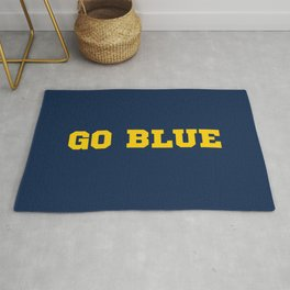 Go Blue Rug