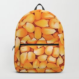 Sweet Corn Kernals Popcorn Abstract Art Backpack