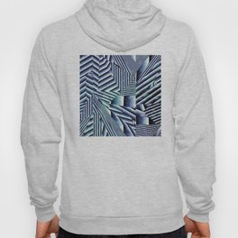 Linear Chaos Abstract Pattern Hoody