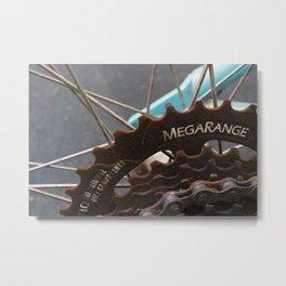 Bike Gears Metal Print