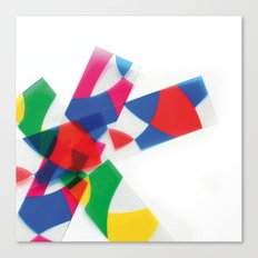 Unknown Shapes Canvas Print