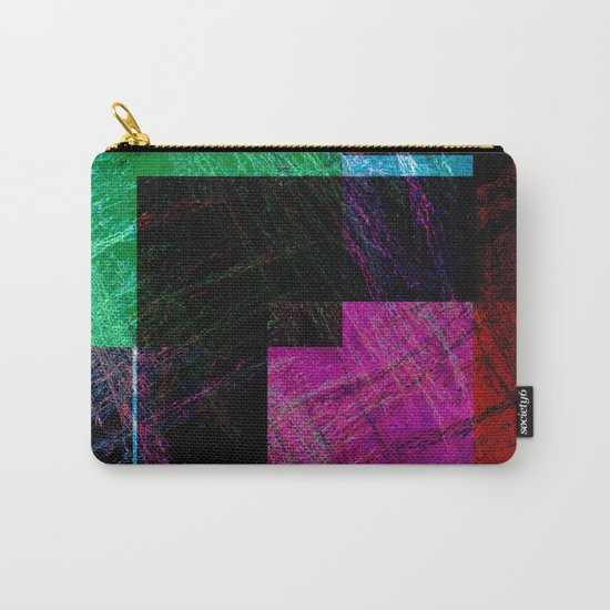 geometric abstract design # ###     ## Carry-All Pouch