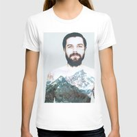 neil gaiman T-shirts featuring Simon Neil Mountains by madbiffymorghulis