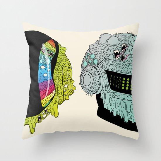 Get Yucky Throw Pillow