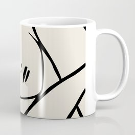 Matisse cutouts abstract drawing,matisse poster,matisse print, female abstract art, eclectic art, mo Coffee Mug