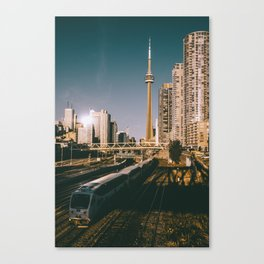 Toronto Tracks Canvas Print