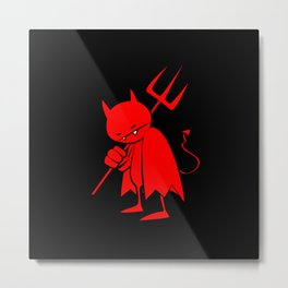 minima - sad devil Metal Print