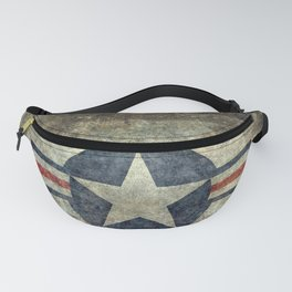 US Air force style insignia V2 Fanny Pack