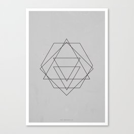 Geometric No.2 Canvas Print