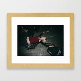 FORGIVE US Framed Art Print