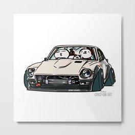 Crazy Car Art 0155 Metal Print