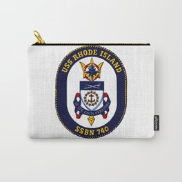 USS RHODE ISLAND (SSBN-740) PATCH Carry-All Pouch