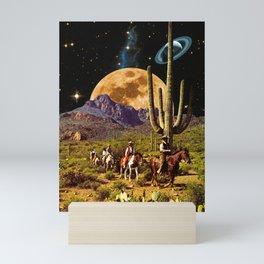 Space Cowboys Mini Art Print