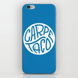 Carpe Taco iPhone Skin