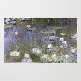 """Claude Monet """"Water lilies""""(2) Rug"""