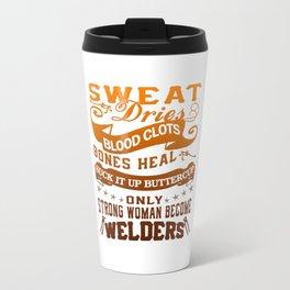 Welder Woman Travel Mug