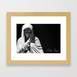 Mother Trinity Framed Art Print