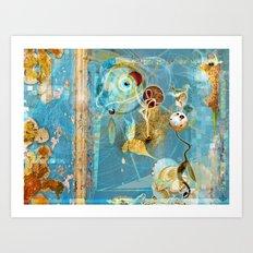 Cosmodigilogital Honey Art Print