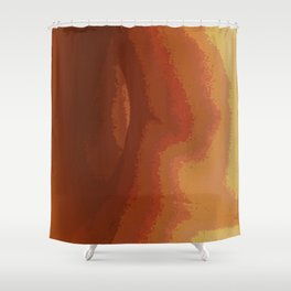 Warmth and Emotion Shower Curtain