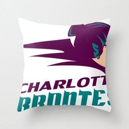 The Charlotte Brontes Team Shirt 2 Throw Pillow