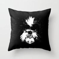 shih tzu Throw Pillows featuring Shih Tzu! by Jay Taylor